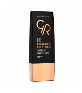 Golden Rose HD Foundation spf15