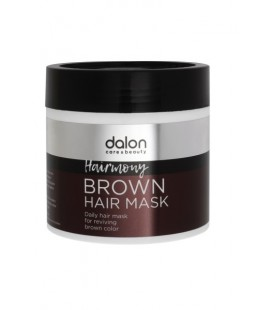 BROWN HAIR MASK DALON 500ML