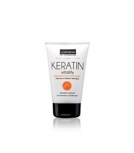 ΜΑΣΚΑ ΜΑΛΛΙΩΝ KERATIN REPAIR & PROTECTION LORVENN 100ml