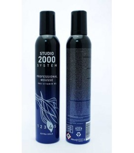 ΑΦΡΟΣ ΜΑΛΛΙΩΝ STUDIO 2000 SYSTEM EXTRA HOLD 400ML