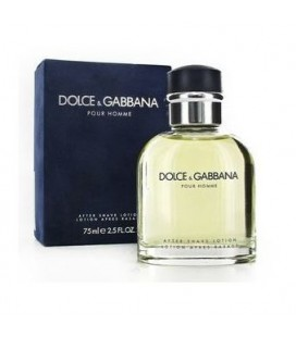 DOLCE & GABBANA pour homme after shave 125ml