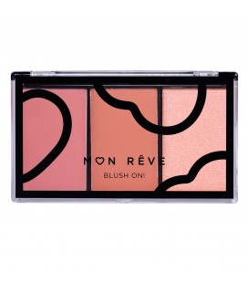 Mon Reve BLUSH ON Trio earth 02