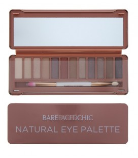 Σετ σκιών Barefaced chic eyeshadow palette natural