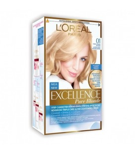 Excellence Loreal Pure blonde 01 Υπερ ξανθό φυσικό 48ml