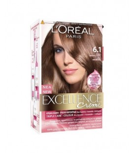 Excellence Loreal Creme N6.1 Ξανθό σκούρο σαντρέ  48ml