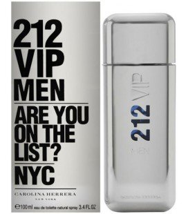 212 VIP MEN EAU DE TOILETTE 100ML CAROLINA HERRERA