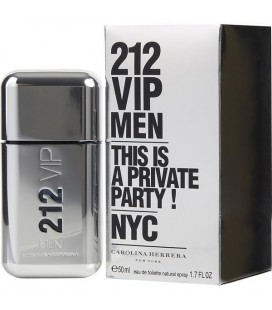 212 VIP MEN EAU DE TOILETTE 50ML CAROLINA HERRERA