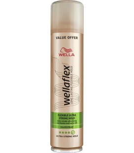 WELLAflex flexible ultra strong hold 5 hair spray 400ml